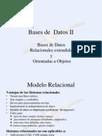 Bases de Datos II - Unidad 3 - 1 Parte