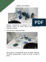 Manual de Limpeza