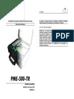 PME-500-TR Manual Del Usuario