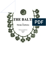 marija gimbutas The Balts