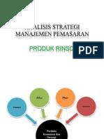 Analisis Strategi Manajemen Pemasaran
