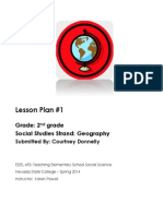 First Grade Geography Lesson