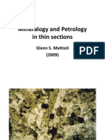 G.S.mattioli (2009)-Mineralogy and Petrology in Thin Section