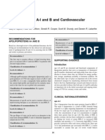 Apo AI and B and Cardiovascular Risk