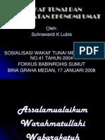Wakaf+Tunai+Dan+Peningkatan+Ekonomi+Umat