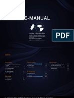 Manual Samsung LE32d550
