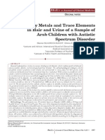 Heavy Metals and Trace Elements