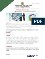Diplomado Internacional Gestion Tecnica SSTMA