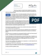 AQuA Best Practices Doc v2 3 Final June 2013