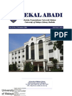 University Malaya Library Resource Publication 2004