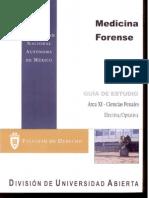 Medicina Forence Area XI-Ciencias Penales