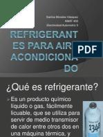 Refrigerantes Electricidad RC