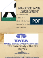 Organizational Development in TCS