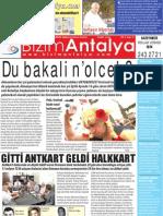 Bizim Antalya Gazetesi Sayı #5 Yıl 1