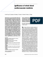 The clinical significance of whole blood viscosity in cardiovascular medicine