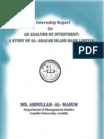 MBA-Internship Report- M a a MASUM, 1005004(1)