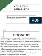 Volvo HRM Case Study