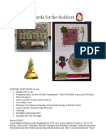 1 Soldier Christmas Card PDF