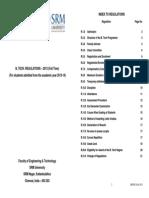 Btech Regulations 2013-14