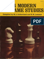 1234 Modern End-Game Studies [Sutherland, Lommer, 1938]