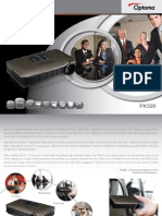 Optoma Pico PK320 DLP Portable Projector