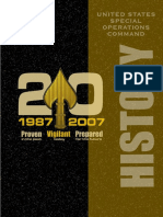 History of the United States Special Operations Command 1987-2007