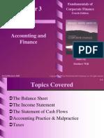 3. Accounting & Finance