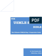 The USMLE Step 1 Bible