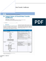 C3 Typical Values of Overall Heat Transfer Coefficients - Springer