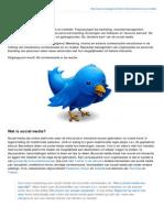 Managementsite.nl Social Media