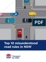 Top 10 Misunderstood Road Rules