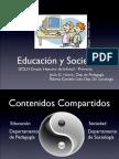 0 Presentacion Educacion y Sociedad 2014