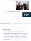 Factories Act Overview