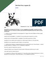 Istoria Romanilor - Intrebari Fara Raspuns