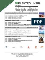 Trip Palembang-lombok (Elektro Unsri Plg)