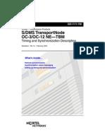 S/DMS TransportNode OC-3/OC-12 NE—TBM