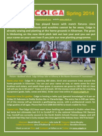 Colga FC Newsletter Spring 2014