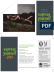 Express Yourself Invitation
