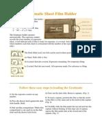 Graflex Grafmatic Sheet Film Holder