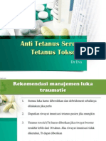 Pencegahan Tetanus