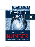 Free E-Book 'Revision Guide Part One Number' from GCSE Maths Tutor