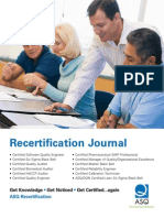 Recert Journal App