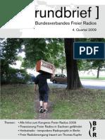Rundbrief Freier Radios 4. Quartal 2009