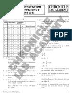 Data Interpretetion & Data Sufficiency (38) ANSWERS