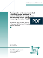 FullReport-hta13560A prospective randomised controlled trial and economic modelling of antimicrobial silver dressings versus non-adherent control dressings for venous leg ulcers
