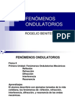 FENOMENOS ONDULATORIOS