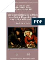 Andrés Bilbao - Las raices teológicas de la lógica económica