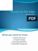 Oceans on the Edge Revision