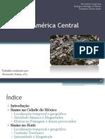Sismos na América Central
