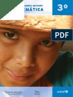 UNICEF MATEMÁTICAS 3